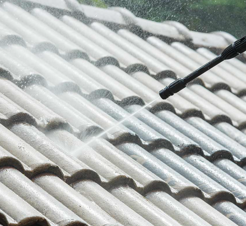 5 Reasons To NOT Pressure Wash Your Tile Roof
